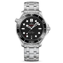 Omega Seamaster Diver 300 M new 2019 Automatic Watch with original box and original papers 210.30.42.20.01.001