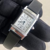 Jaeger-LeCoultre Reverso Lady pre-owned 21mm Silver Fold clasp