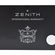 Zenith Parts/Accessories pre-owned El Primero 36'000 VpH