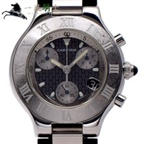 Cartier 21 Chronoscaph Steel 38mm United States of America, California, Los Angeles