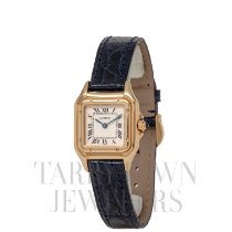 Cartier Panthère Yellow gold 30mm Champagne Roman numerals United States of America, New York, Hartsdale