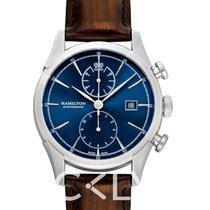 Hamilton Spirit of Liberty Acier 42mm Bleu