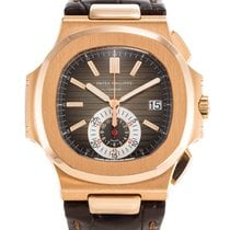 Patek Philippe Nautilus Rose gold 40.5mm Brown No numerals United States of America, New York, New York