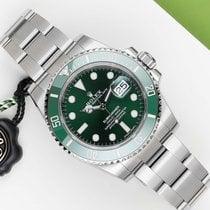 Rolex Submariner Date Acier 40mm Vert