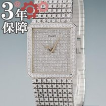 Piaget Oro blanco 25mm Cuerda manual 91545 usados