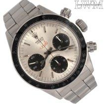 Rolex Daytona Steel 37mm Silver No numerals