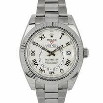 Rolex 326939 White gold Sky-Dweller 42mm pre-owned United States of America, New York, Massapequa Park