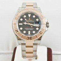 Rolex Yacht-Master 40 Rose gold 40mm Brown No numerals