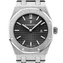 Audemars Piguet Royal Oak Quartz Black Dial