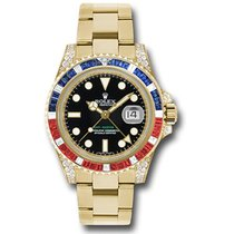 Rolex 116758SARU Yellow gold GMT-Master II 40mm