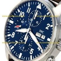 IWC PILOT CHRONO LE PETIT PRINCE  43mm BLUE DIAL IW 377714