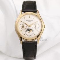 Patek Philippe Yellow gold Automatic 36mm pre-owned Perpetual Calendar