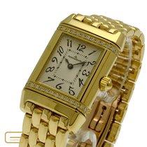 積家 (Jaeger-LeCoultre) Reverso 18K.Gold Brillanten Ref.265.1.86