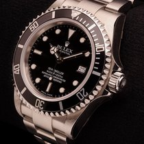 Rolex Sea-Dweller Steel 40mm Black No numerals
