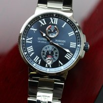 Ulysse Nardin Marine Chronometer Manufacture 1183-122-7M/43 2019 новые