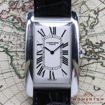Cartier Tank (submodel) Platinum 27mm White Roman numerals UAE, Dubai