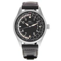 IWC Pilot Worldtimer Black Dial Automatic  IW326201