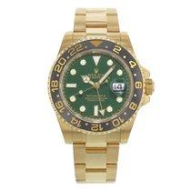Rolex GMT-Master II 116718 18K Yellow Gold Men's Watch (18401)