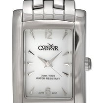 Condor Classic Stainless Steel Mens Watch White Dial CWS105