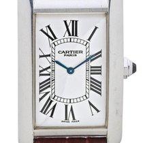 Cartier | A Platinum Rectangular Wristwatch Case 1734b No...