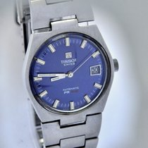Tissot PR 516 automatic blue dial Vintage 70's