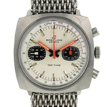 Breitling Top Time Stahl 38mm Silber
