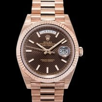 Rolex Day-Date 40 Rose gold United States of America, California, San Mateo
