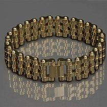 ARAGON Charger 22mm Bracelet JX140GLD