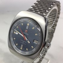 Roamer Steel Automatic Blue 38mm pre-owned Stingray