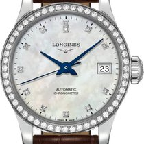 Longines Record Steel 26mm Mother of pearl United States of America, New York, Airmont