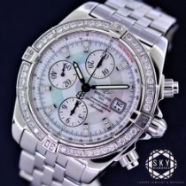 Breitling Chronomat Evolution Steel 44mm Mother of pearl No numerals United States of America, New York, NEW YORK