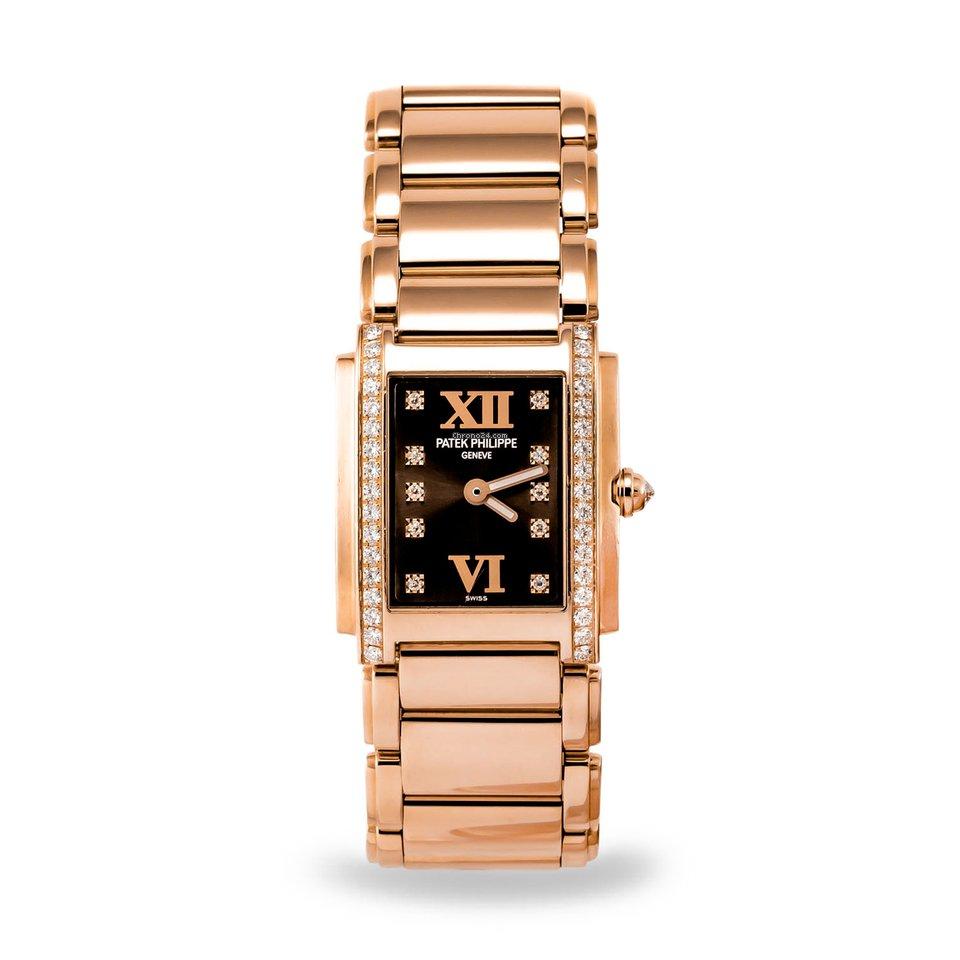 7d6adc25995 Patek Philippe Twenty~4 Rose gold - all prices for Patek Philippe Twenty~4  Rose gold watches on Chrono24