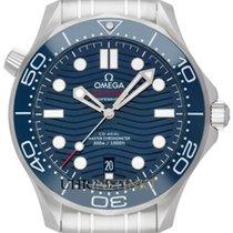 Omega Seamaster Diver 300 M новые 2019 Автоподзавод Часы с оригинальными документами и коробкой 210.30.42.20.03.001