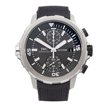 IWC Aquatimer Chronograph pre-owned 45mm Steel