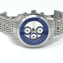 Quinting Çelik Quartz Quinting Mysterious Chronograph QS52 blau - Sammlerstück ikinci el