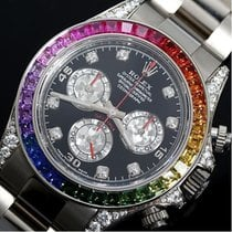 Rolex 116599RBOW Or blanc Daytona 40mm