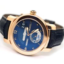 Ulysse Nardin pre-owned Automatic 42mm Blue Sapphire Glass 5 ATM
