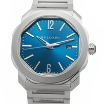 Bulgari Octo Steel 41mm Blue United States of America, New York, New York