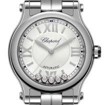 Chopard Damenuhr Happy Sport 30mm Automatik neu Uhr mit Original-Box und Original-Papieren 2019