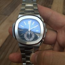 Patek Philippe Nautilus Steel 40.5mm Blue No numerals United States of America, New York, 11978