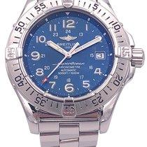 Breitling Superocean Steel 42mm Blue Arabic numerals United States of America, Florida, Boca Raton