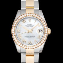 Rolex Yellow gold Automatic new Lady-Datejust