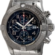 Breitling Super Avenger II Steel 48mm Black Arabic numerals United States of America, Texas, Austin