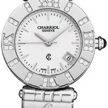 Charriol Alexandre C Steel Mother of pearl United States of America, New York, Brooklyn