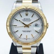 Rolex Datejust Turn-O-Graph Acier 36mm Blanc France, Paris