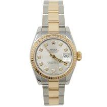 Rolex Lady-Datejust 179173 Sehr gut Gold/Stahl 26mm Automatik
