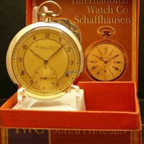 IWC Cal 97 Extra Flat, Art Deco Dial, Revision 01.08.2014, rare