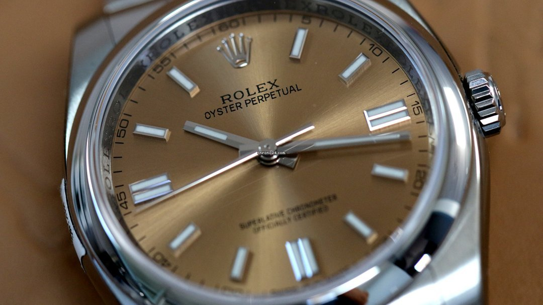 Rolex Oyster Perpetual 36mm White Grape 2019 Unworn
