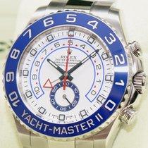 Rolex Yacht-Master II Regatta 2 Stahl LC1100 TOP  B+P