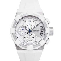 Concord 0320064 C1 Chronograph in Steel - on White Rubber...